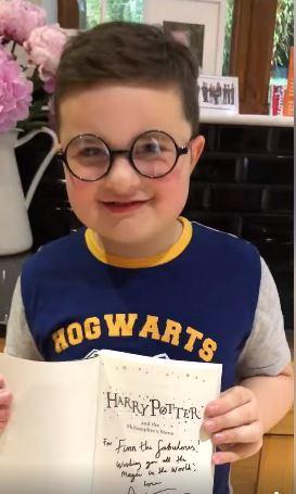 Harry Potter stars join stem cell register to help Finley Hill