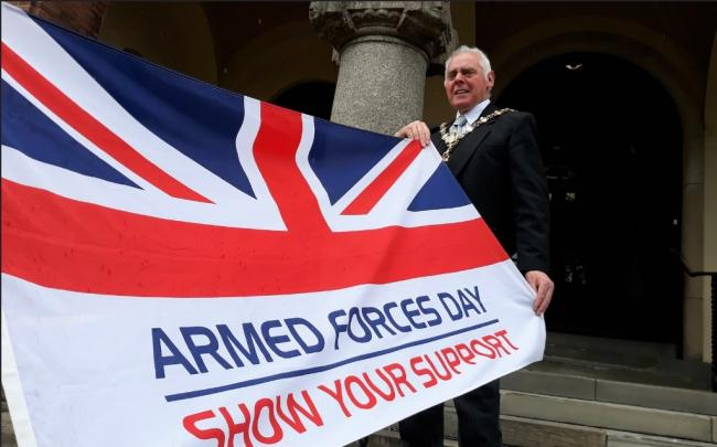 The Mayor of Dudley David Stanley will present the medals on Armed Forces Day