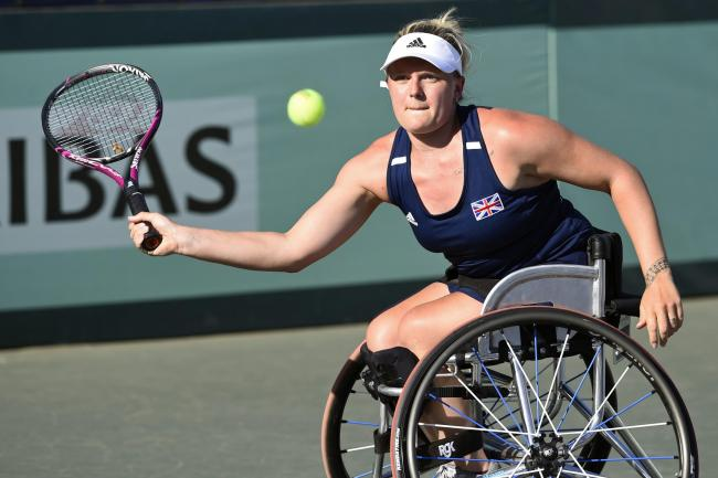 Jordanne Whiley is heading for Wimbledon