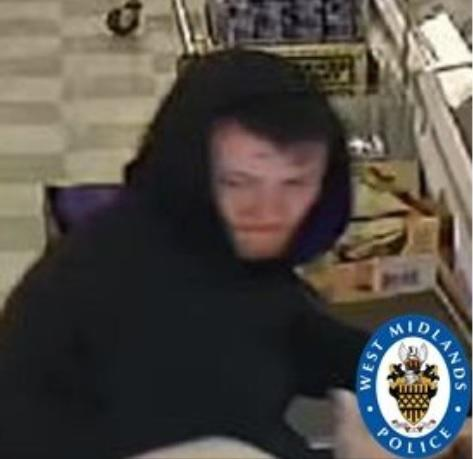 Have you seen this man? Photo: West Midlands Police.