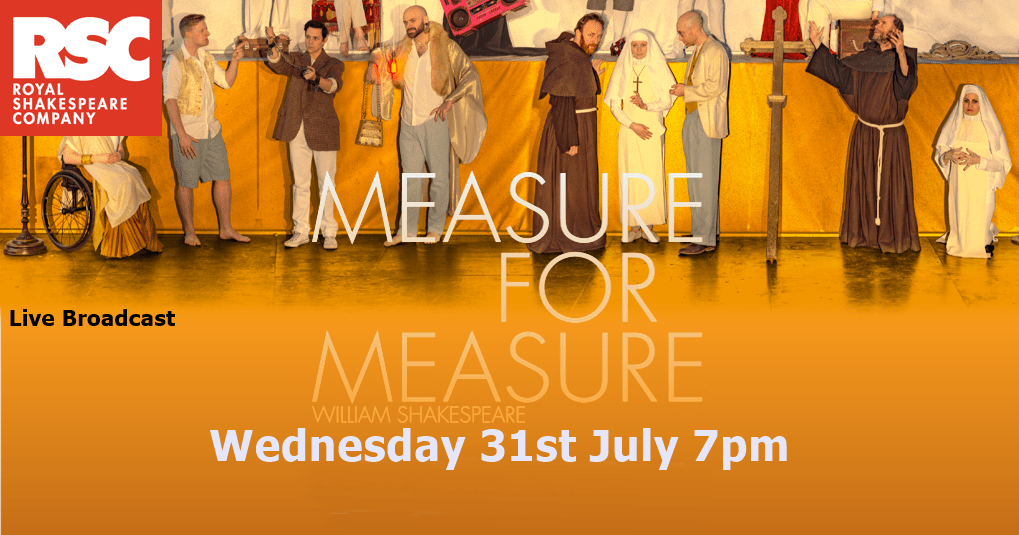 RSC Live from Stratford Upon Avon: Measure for Measure