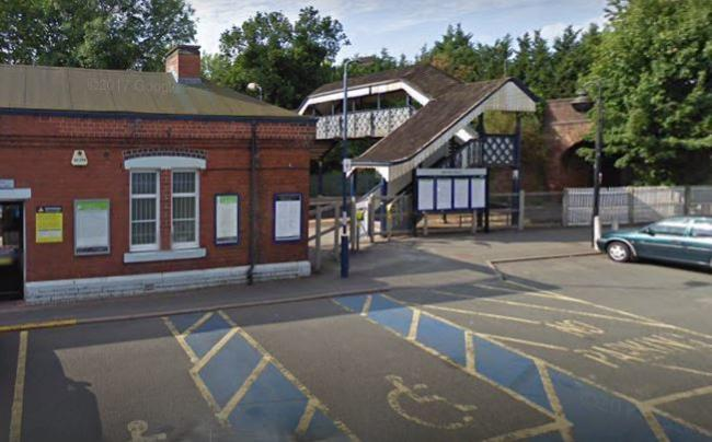 Hagley Railway Station. Pic - Google Street View