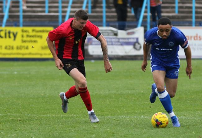 Motel Gibson has impressed during pre-season. Photo by Steve Evans/Halesowen Town
