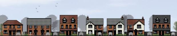 Stourbridge News: This is how the new homes will look. Images courtesy of Persimmon Homes