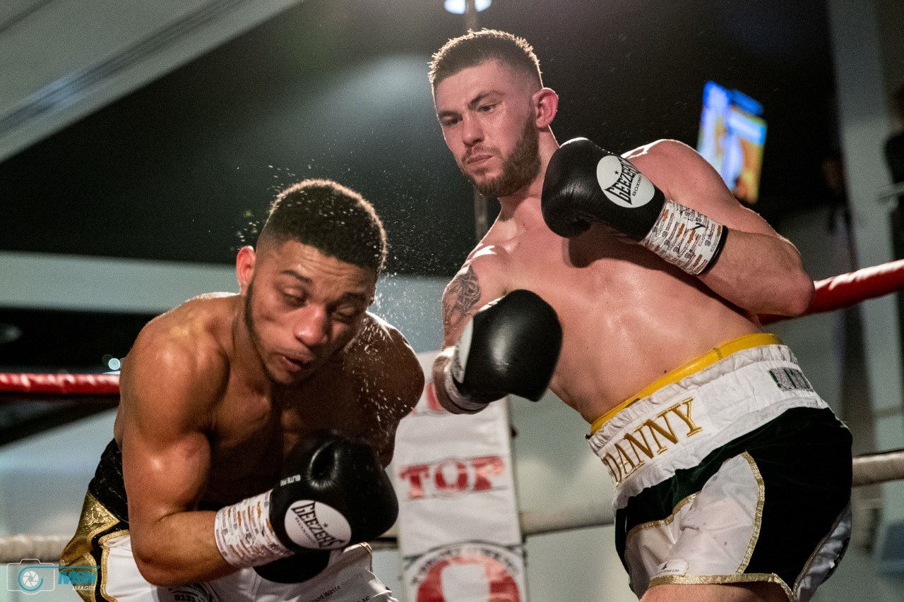 Welterweight Danny Ball has title in his sights