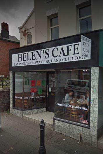 Helen's Cafe in Lye Street has closed