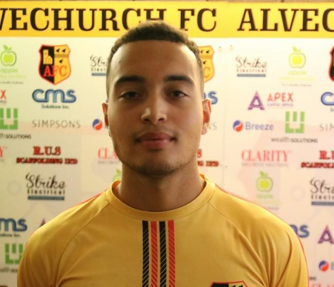 Josh Ezewele. Photo courtesy of Alvechurch FC