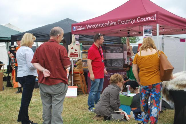 Worcestershire County Council's 'Resident Roadshow' continues at Wythall Carnival this weekend.