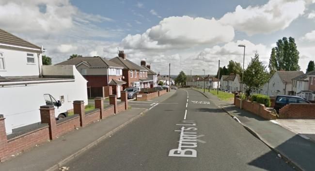 The crash took place on Bunns Lane, Dudley. Image: Google Maps.