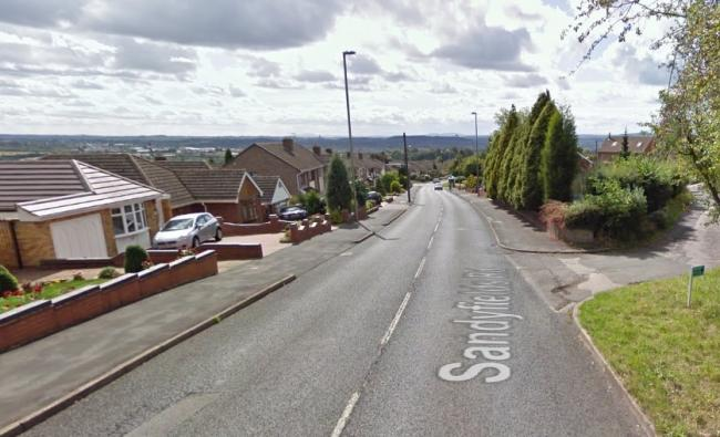 Medics and firefighters were called to Sandyfields Road on August 10. Image: Google Maps.