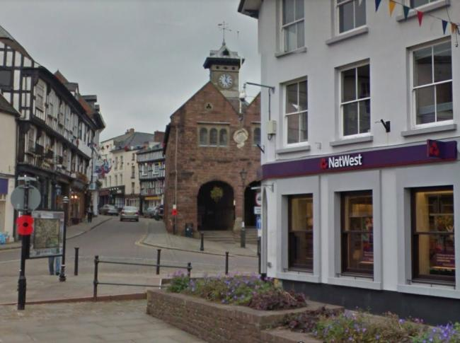 The old Natwest building in Ross-on-Wye. Photo: Google.