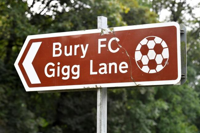 Bury have been given until 5pm on Tuesday to secure their Football League future