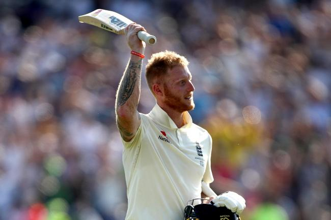 Ben Stokes celebrates victory at Headingley