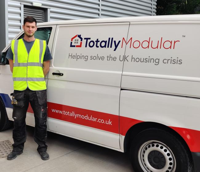 Bewdley joiner Thomas Connolly is through to the semi-finals of the Screwfix Britain's Top Tradesperson contest