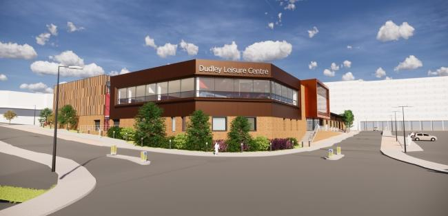The new Dudley Leisure Centre is scheduled to open in 2021.