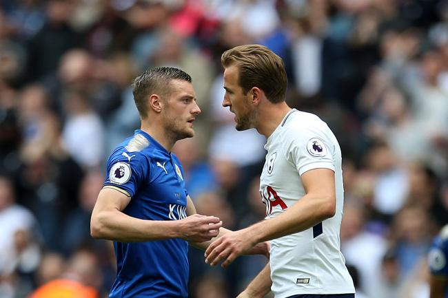 Brendan Rodgers would not swap Jamie Vardy for Harry Kane