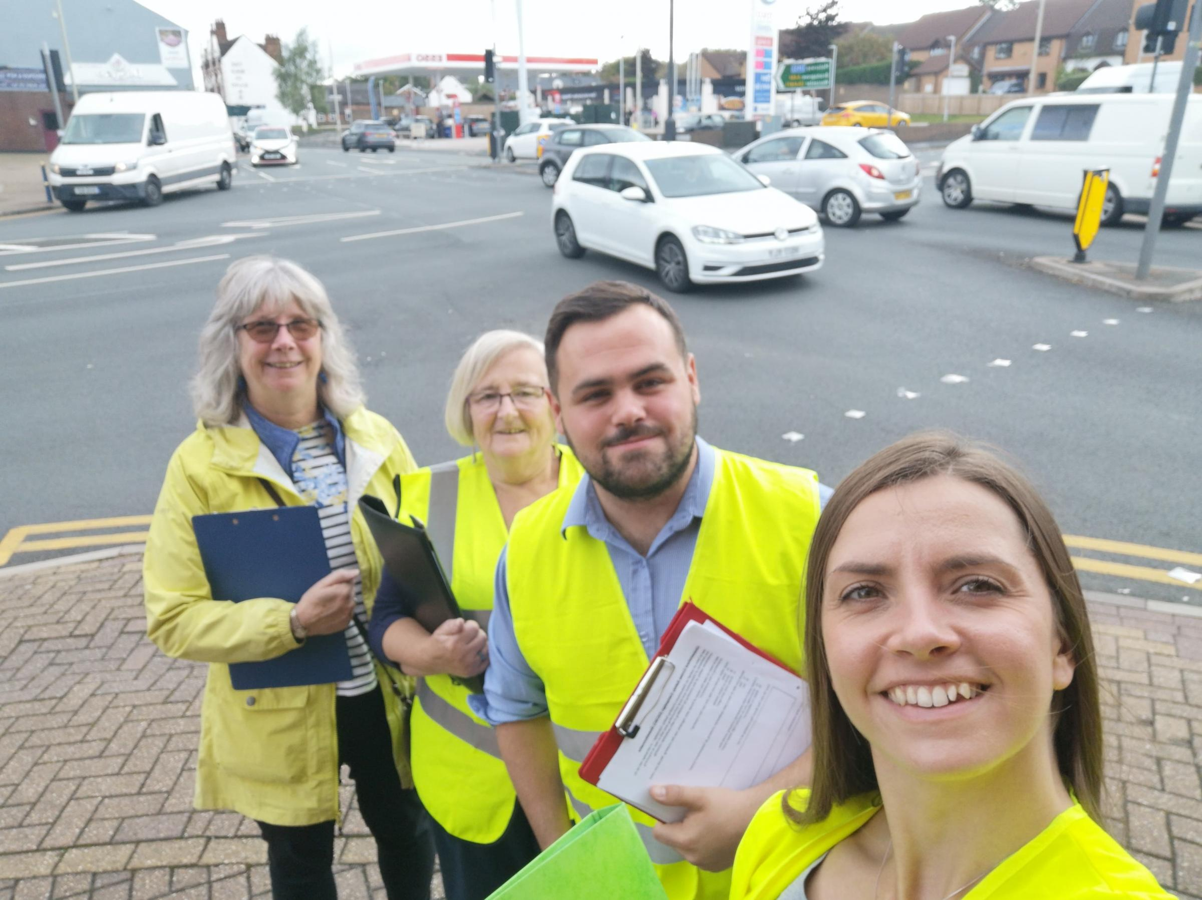 Safety campaign at busy crossing continues to gain pace