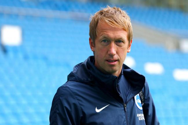 Graham Potter takes his side to Manchester United on Sunday