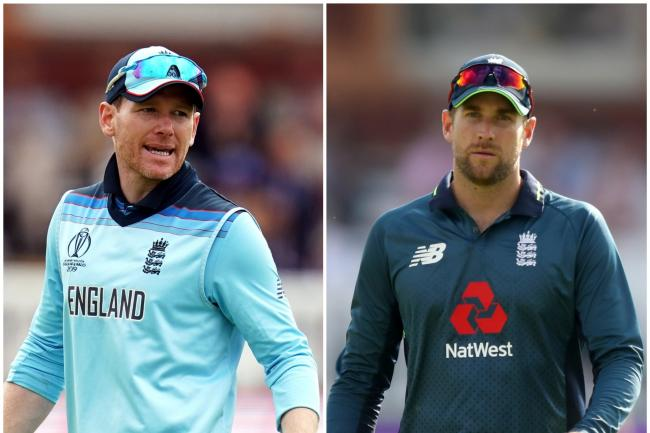 Eoin Morgan and Dawid Malan fired England to their highest T20 total