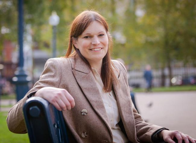 West Midlands Mayor candidate Kathryn Downs. Picture: Green Party