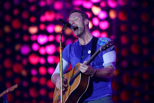 Coldplay frontman Chris Martin