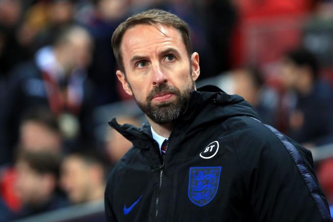 Gareth Southgate saw his side hammer Montenegro