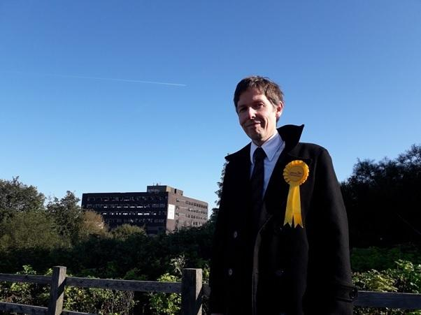 Ian Flynn is the Liberal Democrat for Dudley North.