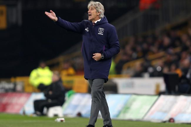 Manuel Pellegrini was pleased with much of West Ham's display