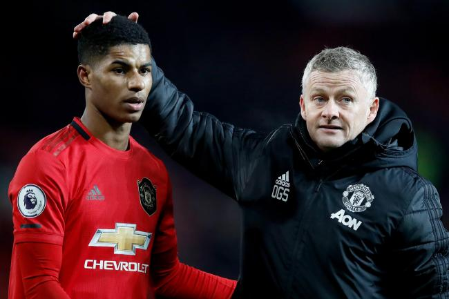Ole Gunnar Solskjaer praised Marcus Rashford for his two goals in the win over Tottenham