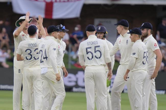 England are on top after two days of the third Test against South Africa