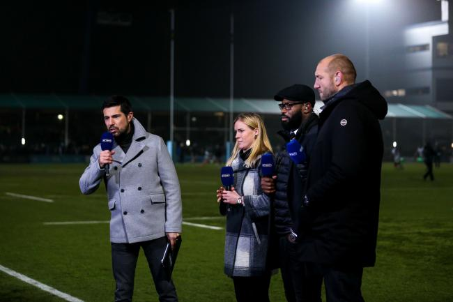 Craig Doyle presents BT Sport's live coverage of Worcester Warriors v Harlequins - Mandatory by-line: Robbie Stephenson/JMP - 23/11/2018 - RUGBY - Sixways Stadium - Worcester, England - Worcester Warriors v Harlequins - Gallagher Premiership Rugby