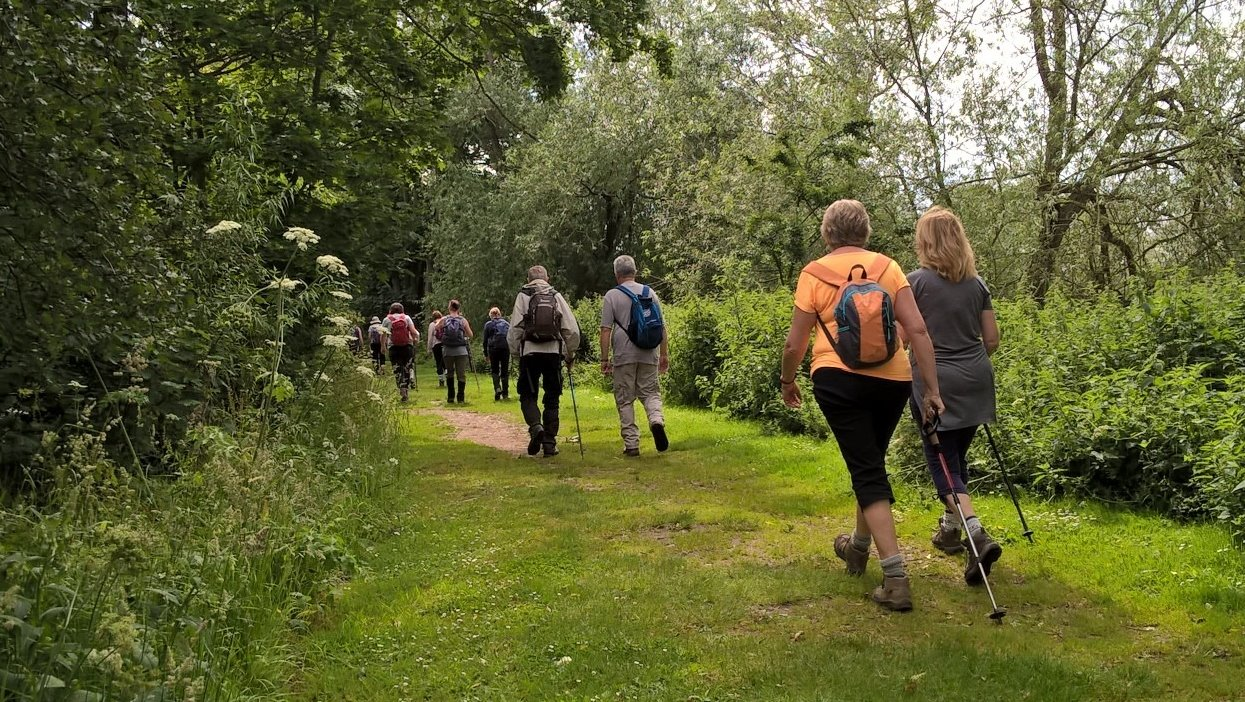 Along the Severn to Newbridge Green with Evesham Ramblers