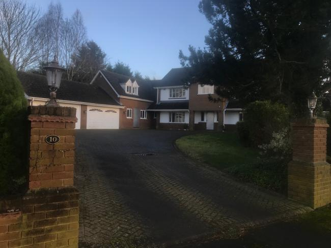 The house in Pedmore where Mrs Bhandal was found dead. Picture: Newsquest