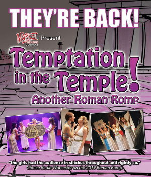 Temptation in the Temple! - A Roman Romp