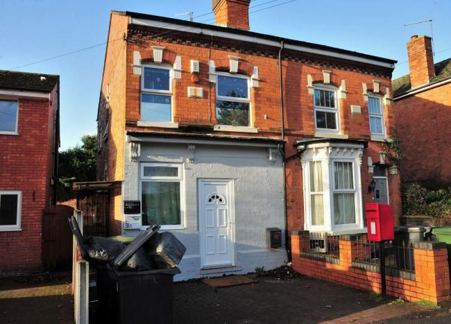 APPEAL: The home in Comer Road where a conversion was rejected last year by the city council