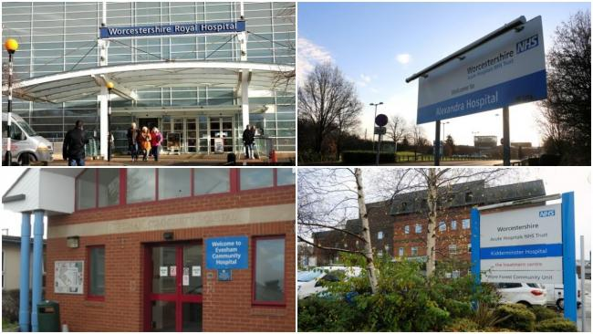 EXTERIOR: The trust runs Worcestershire Royal Hospital in Worcester and the Alexandra Hospital in Redditch