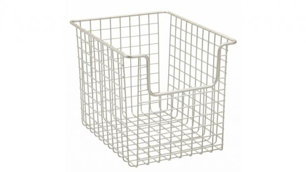Stourbridge News: Baskets can help organise all your bathroom essentials. Credit: Amazon