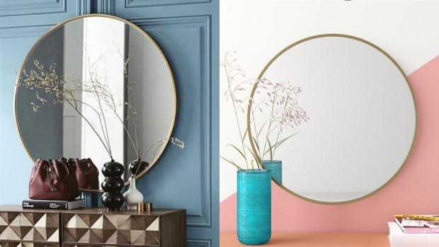 Stourbridge News: A bigger, more modern mirror will create the illusion of more space. Credit: Wayfair