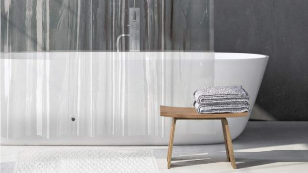 Stourbridge News: A clean shower liner will make your bathroom much more welcoming. Credit: Amazon