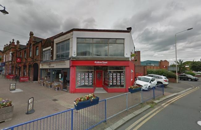 Estate agents Andrew Grant has closed its office in Stourbridge. Photo from Google Maps
