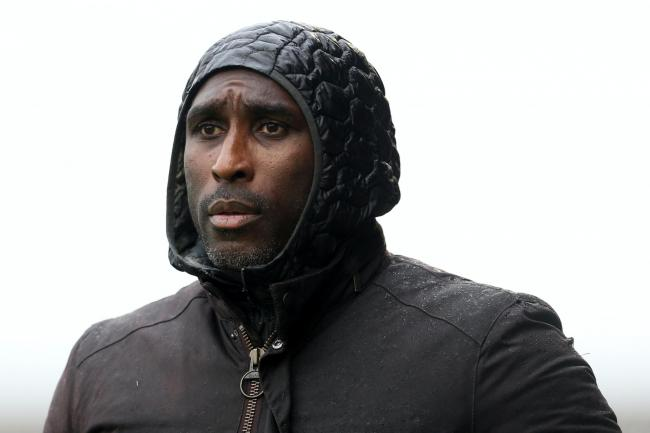 Sol Campbell has left Southend