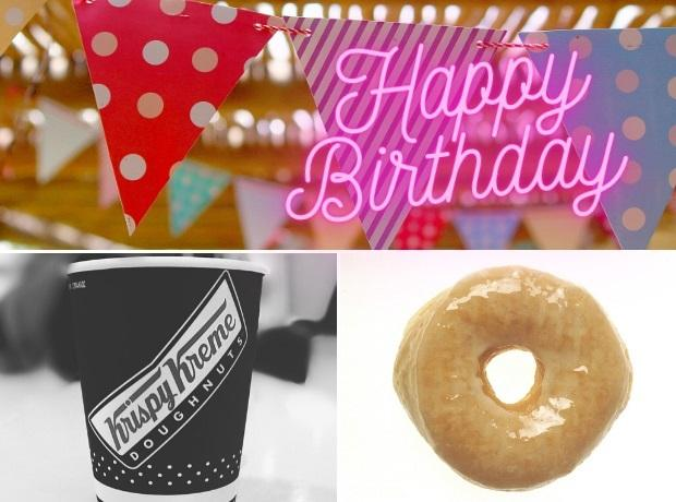 Krispy Kreme is offering a free doughnut to customers who had a birthday in lockdown