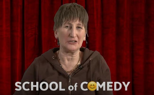 Fancy learning the art of comedy from Doreen?