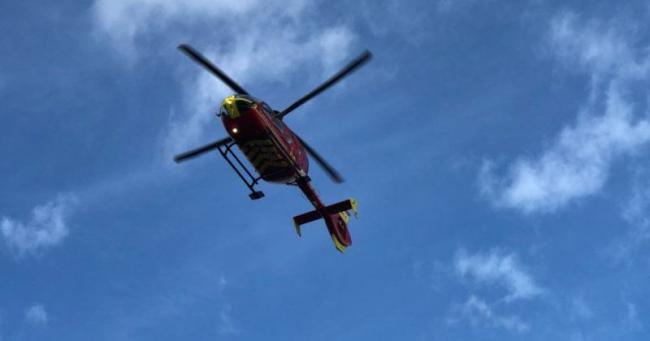 CRASH: Girl and boy bluelighted to hospital after crash in Evesham