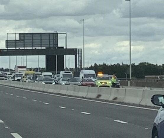 Boy seriously injured on M5 motorway