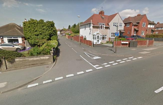 The junction of Thorns Road and Cider Avenue. Image - Google Street View