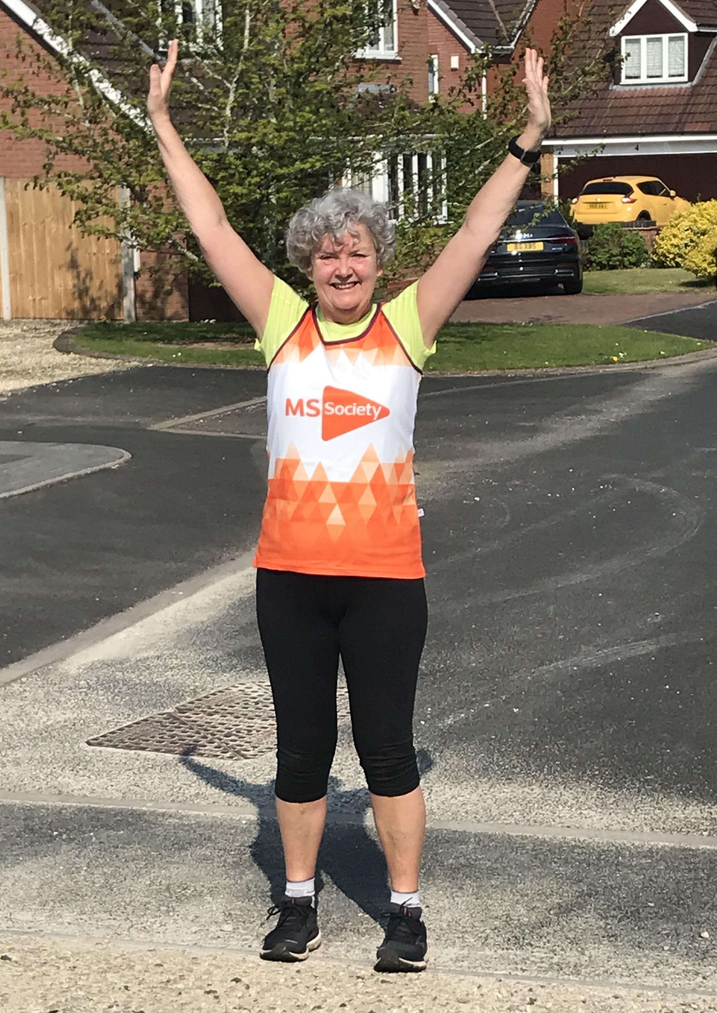 Candy brings London Marathon to Stourbridge