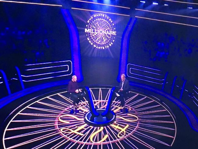 Gary Foster from Belbroughton pictured on Who Wants to be a Millionaire in May - with Jeremy Clarkson