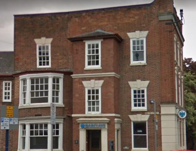 Barclays Bank, Stourbridge. Pic - Google