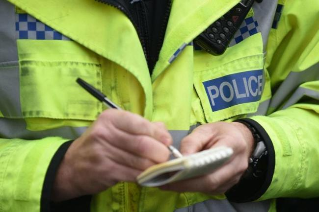A woman was handed a fixed penalty notice by officers in Dudley